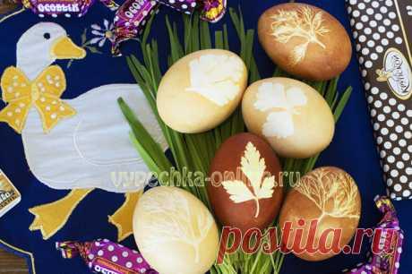 ✔️Красивые крашеные яйца на Пасху