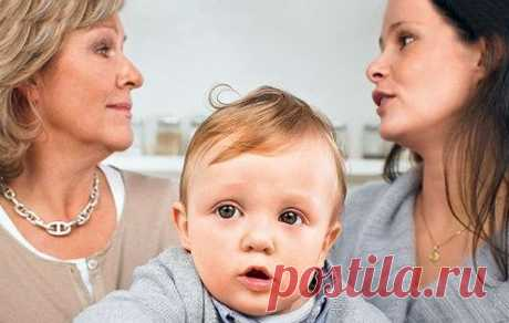 Когда родители и бабушка расходятся во взглядах на воспитание / Малютка