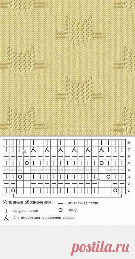 1000 ажурных узоров спицами (часть 26) | Южная сова | Яндекс Дзен
