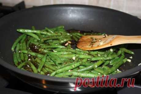 Стручковая фасоль в бальзамическом уксусе - рецепт с фото пошагово