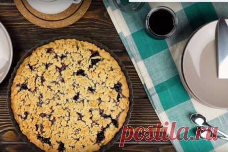 Тертый пирог с вареньем вкус детства | Краше Всех