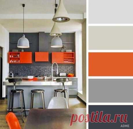 Сочетание цветов в интерьере кухни - Дизайн интерьеров | Идеи вашего дома | Lodgers