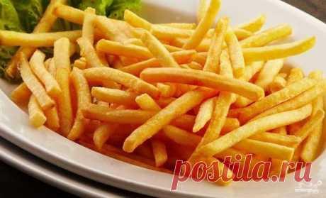 Картофель фри в домашних условиях - пошаговый рецепт с фото на Повар.ру