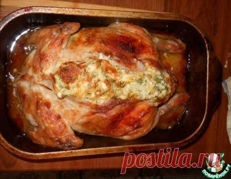 Фаршированная курица – кулинарный рецепт