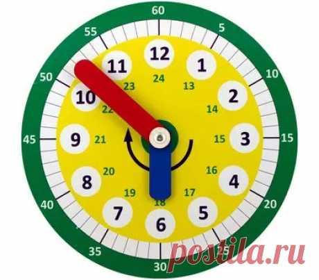 Часы Никитина - купить в магазине развивающих игрушек Детский сад detsad-shop.ru