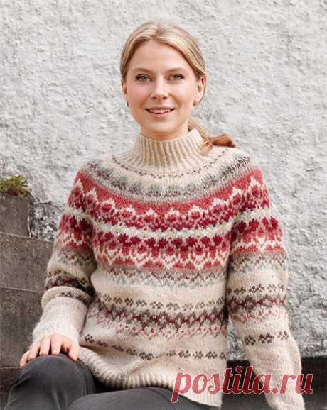 Лопапейса спицами, больше 20 схем для вязания, видео-уроки, Вязание для женщин