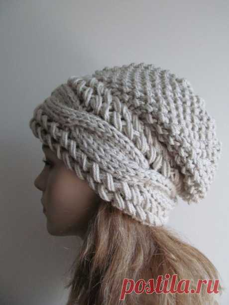 В'язані шапки: 35 ідей для творчості   Ідеї декору