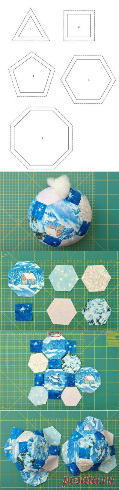 Мячики в технике пэчворк — Сделай сам, идеи для творчества - DIY Ideas