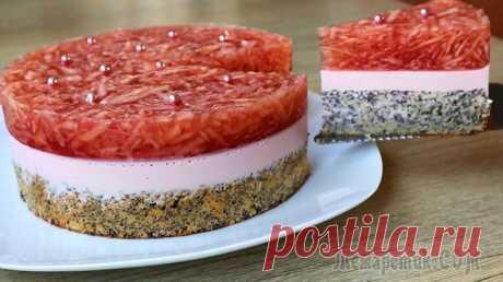 Торт Японка / Необычный торт из простых продуктов!