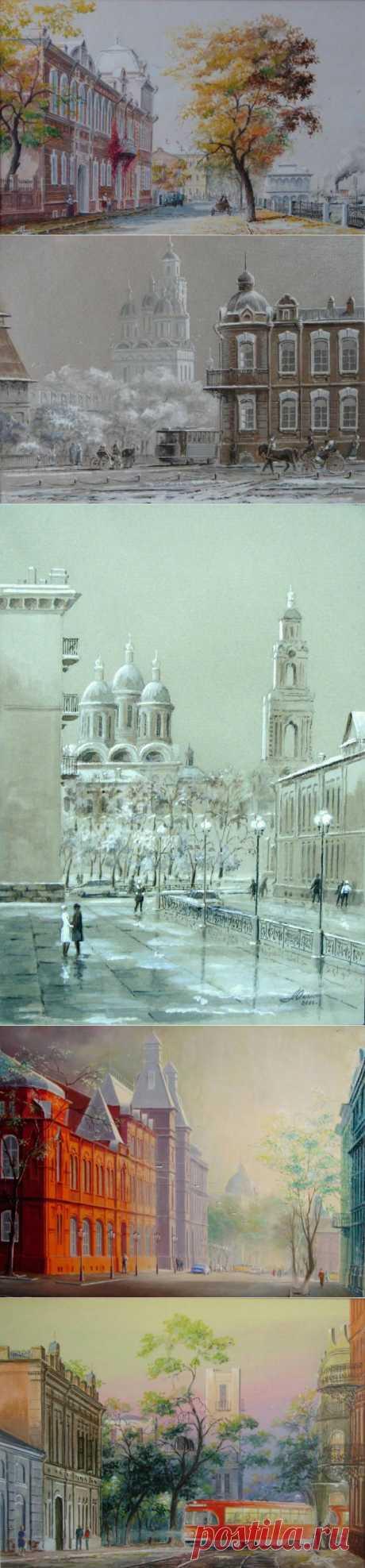 Акварель от Юрия Александровича Анискина.