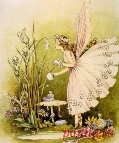 Художник Ida Rentoul Outhwaite (1888 - 1960)