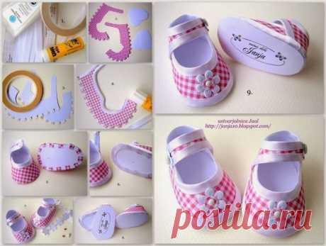 МК и выкройки. Шьем обувь для кукол | all Dolls
