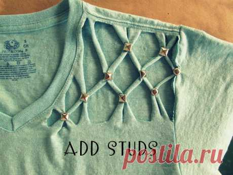 ALTERATION of T-SHIRTS IN the STYLISH DRESS WITHOUT USE of the SEWING MACHINE Interesting alterations wait for you, dear readers, on this page.\u000d\u000a\u000d\u000a\u000d\u000a\u000d\u000a\u000d\u000a\u000d\u000ahttp:\/\/fljuida.com\/profile
