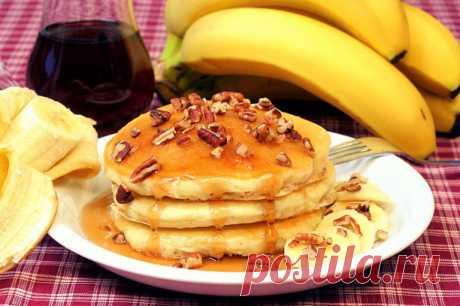 Банановые оладьи — Sloosh – кулинарные рецепты