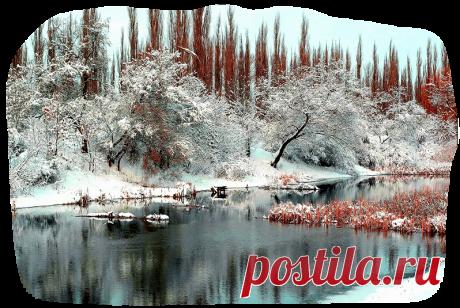 Зимние пейзажи PNG