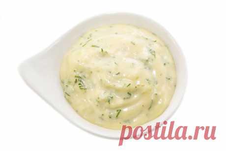 Чесночный соус с сыром: рецепт