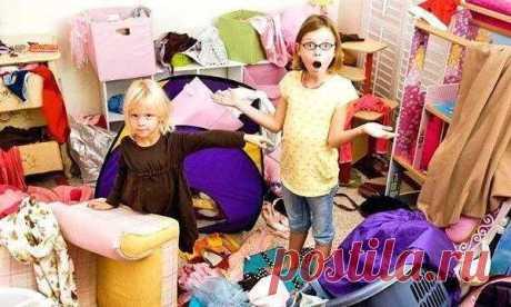 Как приучить ребенка убираться . Милая Я