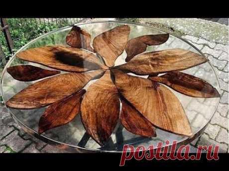 Изделия из эпоксидной смолы и древесины Products from epoxy resin and wood