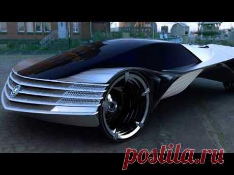 Cadillac WTF - Первый в мире автомобиль с атомным двигателем будет в Америке - Загадки человечества