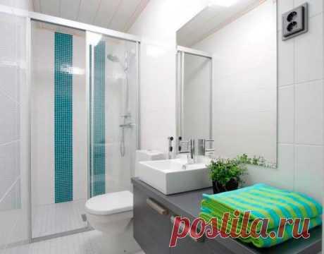 Как сделать ремонт маленьких ванных комнат