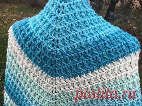 Crochet Frosted Layer Cake Shawl Pattern + Tutorial