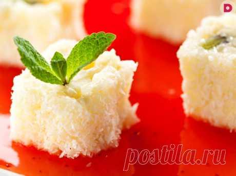 Японский десерт «Белая орхидея», рецепт приготовления