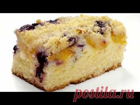 El pastel simple de bayas. La receta poshagovyy de la cocción sabrosa de casa.