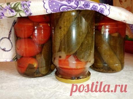 Хрустящие огурчики и пряные помидорчики: как сделать вкусное ассорти для хранения в квартире   Кулинарные записки обо всём   Яндекс Дзен
