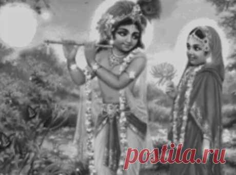 Кришна и Радхарани.