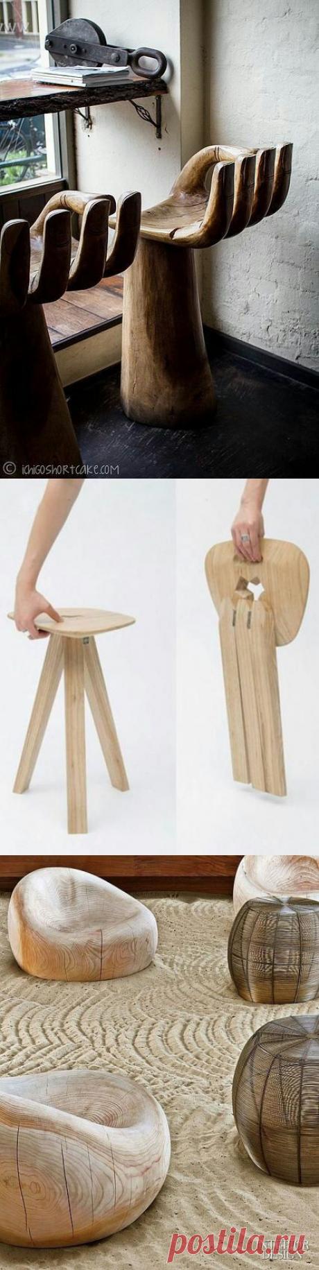 Креативные стулья: подборка от дизайнеров / Мебель / ВТОРАЯ УЛИЦА