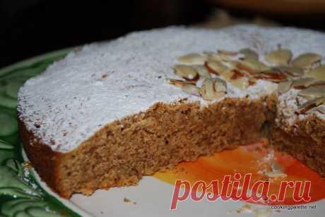 Миндальный торт (Torta del Cielo) » Cooking Palette