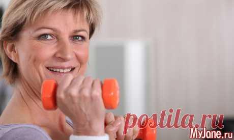 Натуральные способы облегчить симптомы менопаузы - менопауза, климакс, приливы, раздражительность, бессонница, остеопороз,
