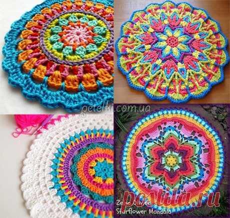 Декоративная салфетка с розами. Мастеркласс