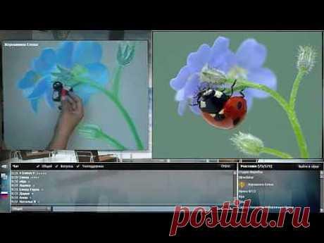 ▶ Уроки рисования пастелью для начинающих и не только.. - YouTube