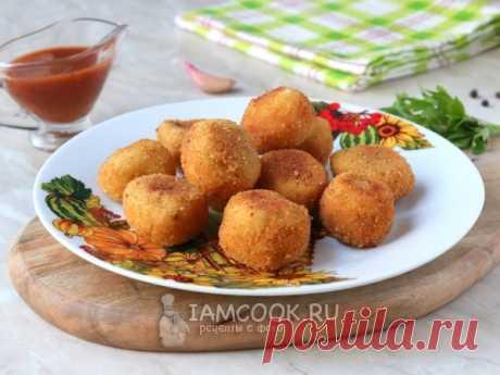 Цыбрики. Цыбрики - картофельные шарики, жаренные во фритюре. Национальное блюдо белорусской кухни.