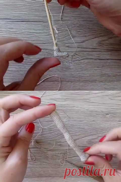 (6) Как связать плоскую стопу для каркасной куклы амигуруми крючком - YouTube