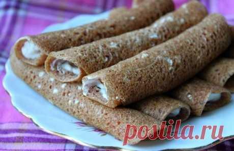 Вкусные и полезные блинчики с имбирем и корицей