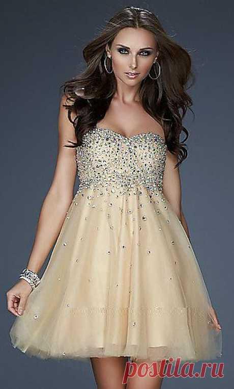 Коктейльное платье  Арт № Sdk 03 Размер: XS,  S,  M,  L,  XL,  2XL,  3XL Ткань:  шелковый атлас, Swarovski