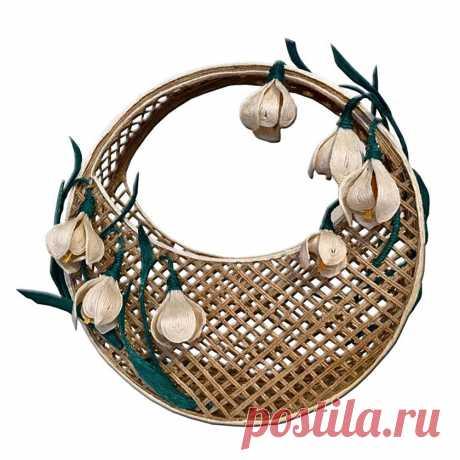 Как сделать декоративную корзину из джута