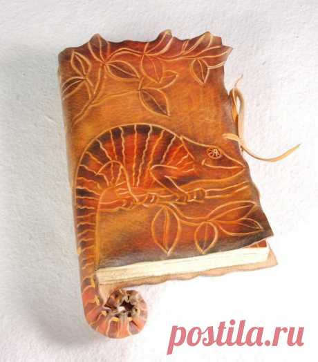 Chameleon Diary by gildbookbinders on deviantART