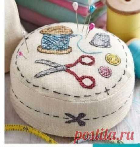 Вышивка игольницы в подарок Модная одежда и дизайн интерьера своими руками