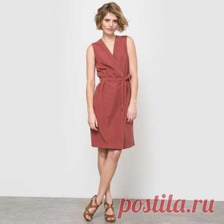 Выкройка летнего платья на запах Модная одежда и дизайн интерьера своими руками