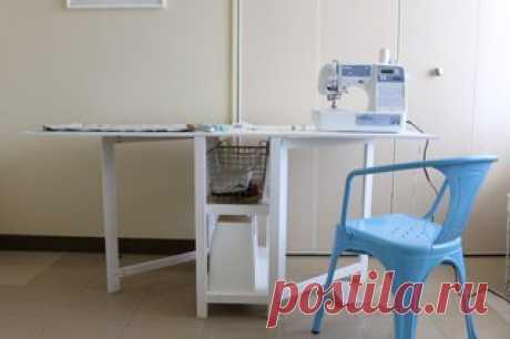 Удобный стол для рукодельницы