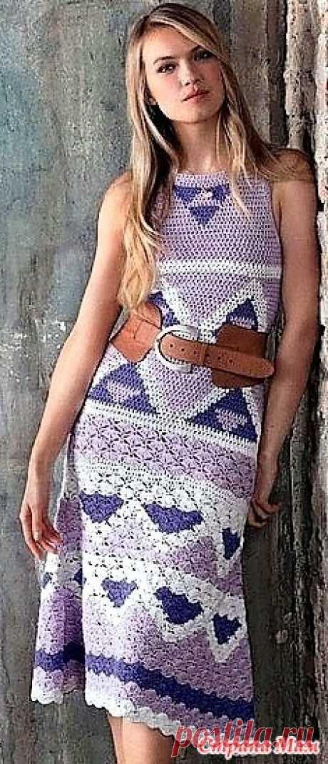 Ловандовое настроение. Платье жаккардовым узором. Это прекрасное летнее платье выполнено жаккардом в оттенках лавандового цвета.Оно смотрится очень оригинально и свежо Размеры 42\46.