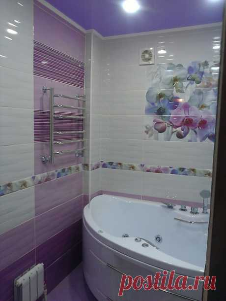 Дизайн керамической плитки для ванной комнаты