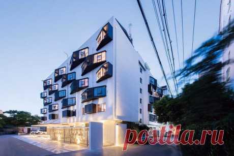 Где живет молодое население в Китае Архитектурное бюро GPT+ спроектировало комплекс апартаментов в городском округе Сучжоу провинции Цзянсу в Китае. Авторы проекта преобразили старый дом,