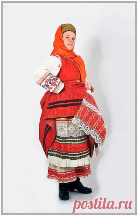 Русский национальный костюм-Достояние народа