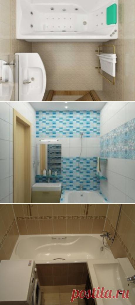 Варианты дизайнов ванной комнаты в хрущевке — Мой дом