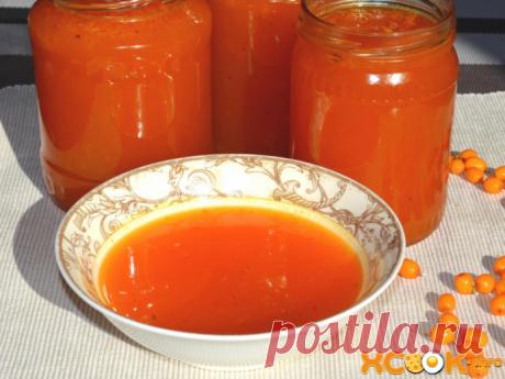 Желе из облепихи – простой рецепт приготовления на зиму без желатина