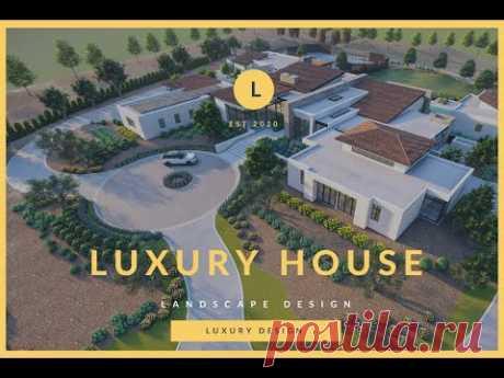 luxury Residence Landscape Animation in lumion 10 | Lumion 10 Animation of Farm house